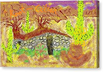 Root Cellar Canvas Print by Joe Dillon