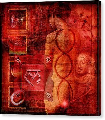 Root Chakra Canvas Print by Mark Preston