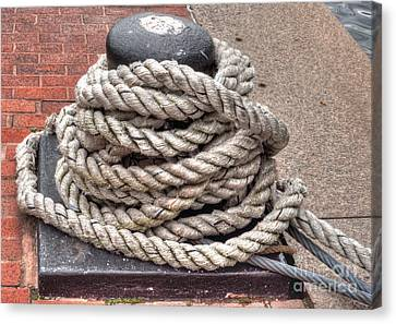 Rope Coil 1 Canvas Print