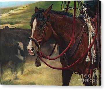 Rope Ready Canvas Print
