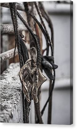 Ropes And Gloves Canvas Print by Amber Kresge