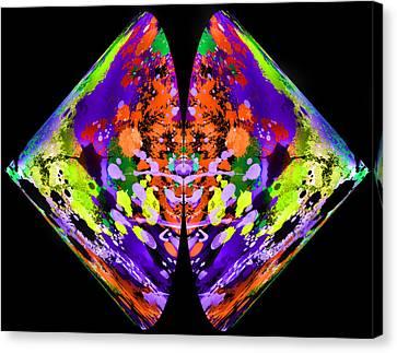 Rorschach  On Steroids  Canvas Print