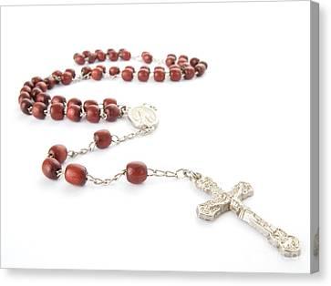 Rosary Beads Canvas Print by Jose Elias - Sofia Pereira