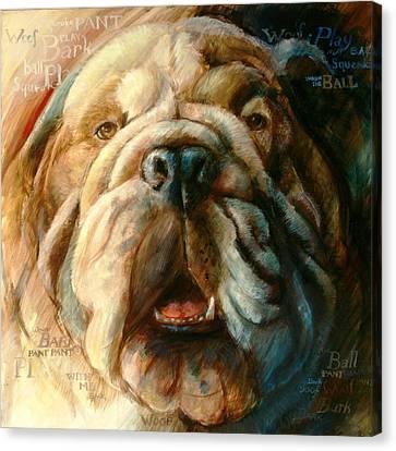 Roscoe Too Canvas Print by Vanessa Bates