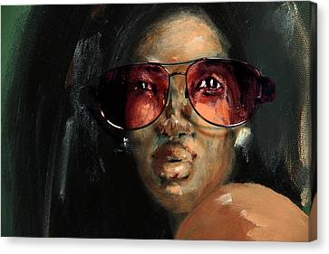 Rose Colored Glasses Canvas Print by Jim Vance