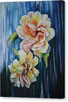 Rose Duo Canvas Print