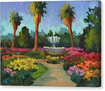 Rose Garden Canvas Print by Diane McClary