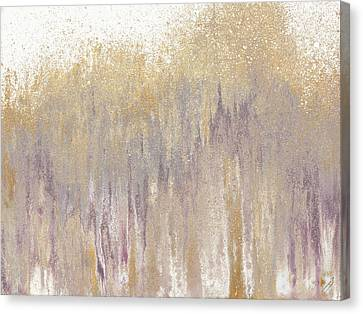 Rose Gold Expression Canvas Print by Roberto Gonzalez