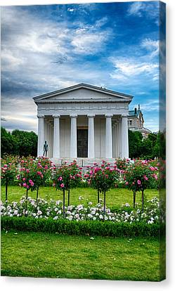 Rose Park Canvas Print by Viacheslav Savitskiy