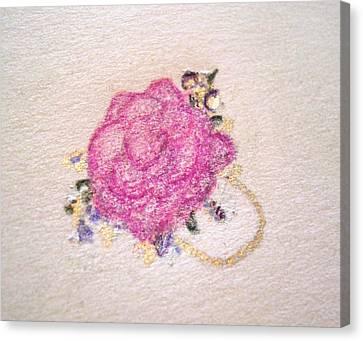Rose Ring Canvas Print by Christine Corretti