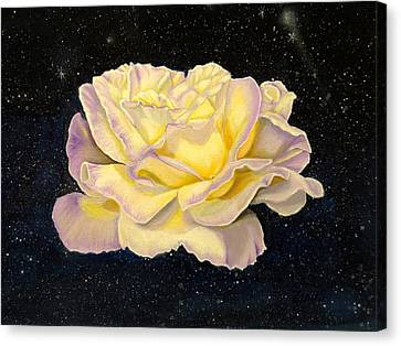 Floral Canvas Print - Rose Stars by Zina Stromberg