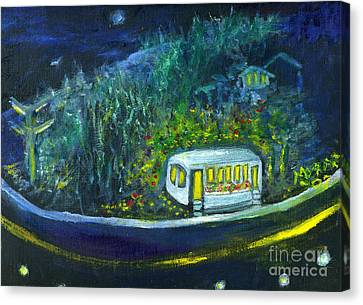 Rosebud's Diner Canvas Print