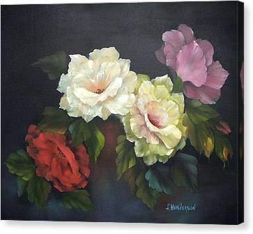 Roses-4-you Canvas Print