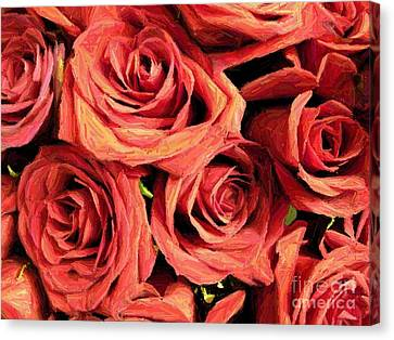 Roses For Your Wall  Canvas Print