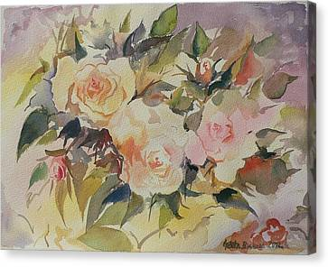 Roses Canvas Print by Geeta Biswas