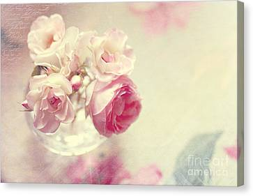 Roses Canvas Print by Sylvia Cook
