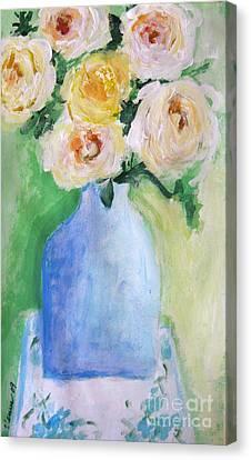 Roses Canvas Print by Venus