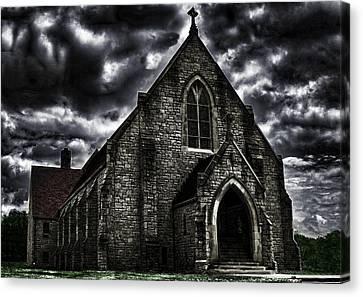 Roseville Ohio Church Canvas Print