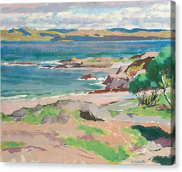 Ross Of Mull From Traigh Mhor Canvas Print