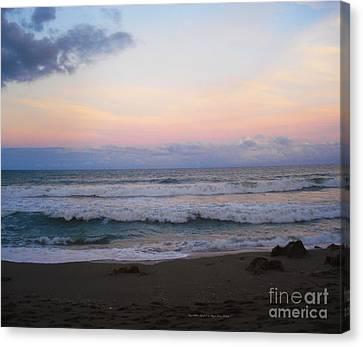 Ross Witham Beach No2 Canvas Print by Megan Dirsa-DuBois