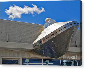 Roswell New Mexico Canvas Print by Gregory Dyer