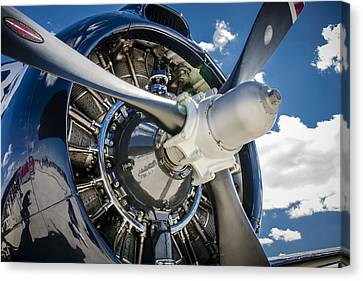 Rotary Engine And Prop Canvas Print