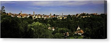 Rothenburg Panorama Canvas Print by Joanna Madloch