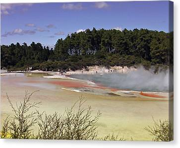 Rotorua New Zealand 3 Canvas Print by Mariusz Kula