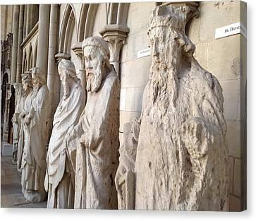 Rouen Cathedral Francel Ireland Canvas Print