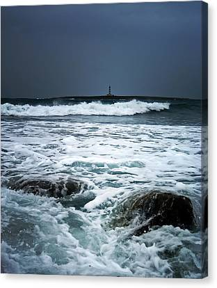 Coastal Storm Canvas Print