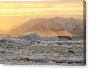 Rough Seas Canvas Print by Tim Grams