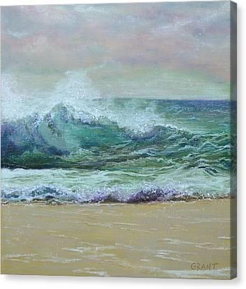 Rough Surf Canvas Print