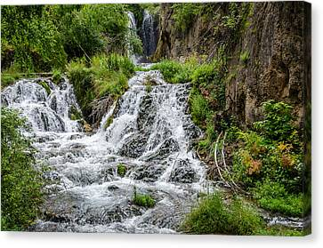 Roughlock Falls South Dakota Canvas Print