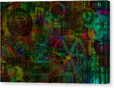 Round Things Canvas Print by Jack Zulli