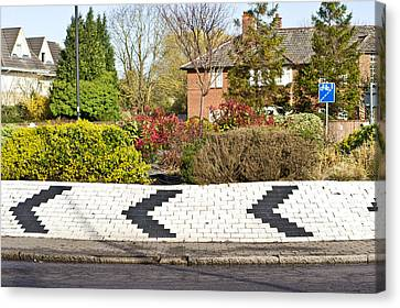 Roundabout Canvas Print by Tom Gowanlock