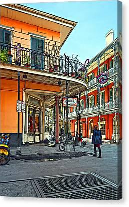 Rouses Market Painted Canvas Print by Steve Harrington