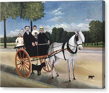 Rousseau, Henri 1844-1910. Old Man Canvas Print by Everett