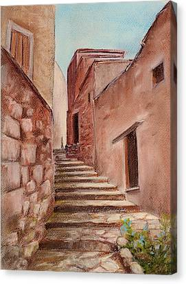Roussillon Walk Canvas Print by Anastasiya Malakhova