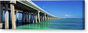 Route 1 Overseas Highway, Bahia Honda Canvas Print by Panoramic Images