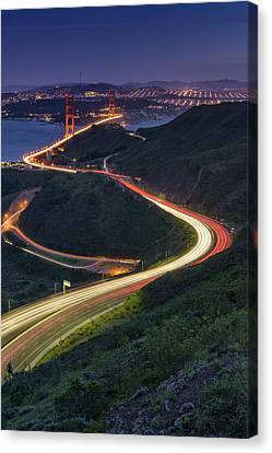 Route 101 Canvas Print by Rick Berk