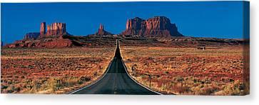 Route 163, Monument Valley Tribal Park Canvas Print