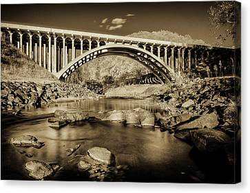 Route 40 Bridge Canvas Print