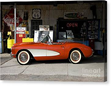Route 66 Canvas Print by Allen Beilschmidt