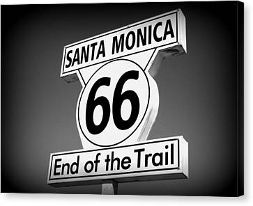 Route 66 Canvas Print by David Nicholls