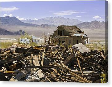 Route 66 Ludlow Decay Canvas Print