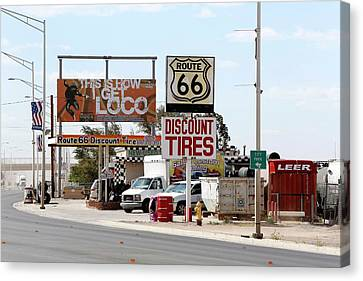 Route 66 Canvas Print by Michael Szoenyi