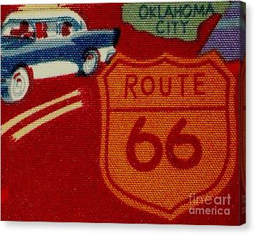 Route 66 Oklahoma City Canvas Print