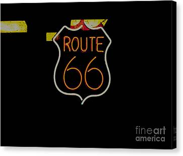 Route 66 Revisited Canvas Print by Kelly Awad