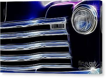 Route 66 Well Grilled Canvas Print by Bob Christopher