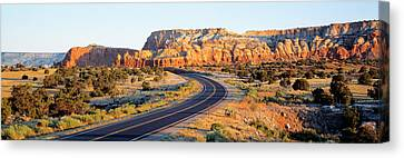 Route 84 Nm Usa Canvas Print by Panoramic Images